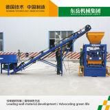 La machine de fabrication de brique de verrouillage manuelle évalue le groupe de machines de Qt4-24 Dongyue
