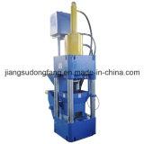 Fichas Horizontal briquetas de prensa de briquetas máquina madera Aserrín