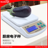 가구 사용 역광선을%s 가진 소형 10kg/1g 전자 부엌 가늠자 무게를 다는 가늠자를 위한 Sf-400A 디지털 가늠자