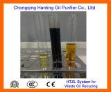 Máquina Motor Residuos Htzl Reciclaje de Aceite de residuos de aceite de regeneración sin productos químicos