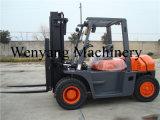 Wenyang Maschinerie-Gabelstapler-6t angeschaltener Ladeplatten-LKW