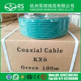 75ohm Groene Coaxiale Kabel Kx6/Kx6a voor kabeltelevisie