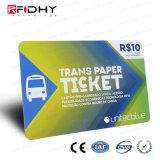 公共交通機関RFIDのカードの切符