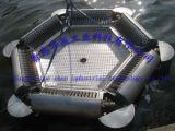 Girar a máquina de absorção do petróleo do disco