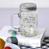 Regalo de cocina personalizada Lemon Pepino Mason Jar vidrio con tapa