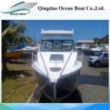 21FT 6.25m Aluminiumfischen-Mitte-Kabine-Boote