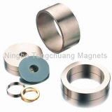 Seltenes Earth Magnets mit Different Plating