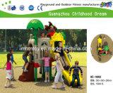 Outdoor parque plástico Equipamentos Playground (HA-10401)