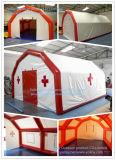 خيمة ذاتية الارتفاع نفخ هوائي الإغاثة الطبية