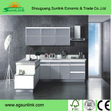 Двери шкафа стеклянной одиночной двери алюминиевые для кухни (SC-AAD097)