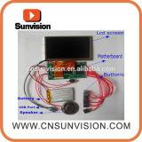 """풀그릴 2.4 """" LCD 영상 모듈 인사장 음악 모듈"""