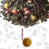分類されたフルーツの香り(4混合されたフルーツ)が付いている中国のフルーツの緑茶