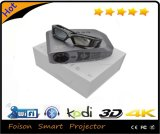 2016 Full 최고 3D Glassess LED Theater DLP Home Projector