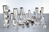 Sanitaria de acero inoxidable Válvula neumática para la Industria Alimenticia