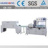 Automático de tablas del piso lateral sellador del encogimiento del calor de la máquina de embalaje