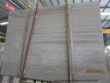 Mármol de madera gris / blanco para la losa, el azulejo o la encimera
