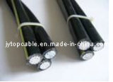 Triplex Overhead ABC Aerial Bundled Cables und Underground Cable (URD Draht)