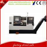Lathe CNC кровати центра Ck50L горизонтальный поворачивая Slant