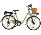 Ciudad hermosa Electric Bicycle con Rattan Basket (JB-TDF11Z)