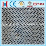 Steel inoxidável Checkered Sheet ou Anti-Slip Sheet