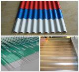 Ligne en carton ondulé d'extrusion de production de PVC avec du ce et l'OIN