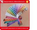 Kundenspezifische Abzuglinie mit der Pantone Farbe abgeglichen