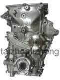 6 ADC12 passten die Aluminiumlegierung-Autoteile an, die Teil-Ersatzteil-Öl-Pumpe maschinell bearbeiten, die Hochdruckqualität Druckguss-Teile