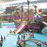 Aqua di legno House Playground per Water Park (A-06202)