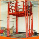 Ascenseur de fret électrique vertical utilisé dans l'entrepôt