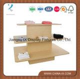 Расположенный ярусами прямоугольная таблица индикации деревянные 3 для магазинов одежды