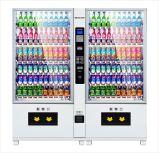 Máquina de Vending combinado do petisco da bebida com capacidade de Hugh
