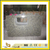 Polished Golden Autumn Granite Countertop для Kitchen/ванной комнаты