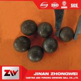 Bolas de acero de molde que muelen la bola de acero para la explotación minera y la planta del cemento