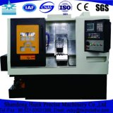 Металл высокой точности обрабатывая Slant машинное оборудование Lathe CNC кровати с цыпленком
