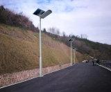 50W todo en un sistema solar del alumbrado público del LED