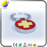 Imitar el anillo dominante del metal de la Cruz Roja del esmalte