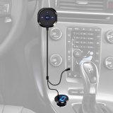 Adaptador sin manos del coche de Bluetooth del receptor audio