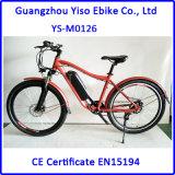 bicicleta de montanha elétrica de 350W 48V, bicicleta da sujeira da estrada de /off
