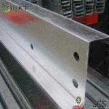 Pre гальванизированные стальные размеры Purlin профиля U c z для конструкции здания