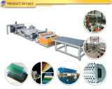 La Croûte de PVC A Émulsionné Produit en Plastique de Panneau de Plaque Expulsant Faisant Des Machines