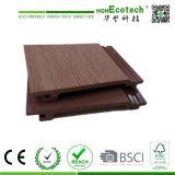 Resistente al agua Edificio agradable al aire libre de madera compuesto plástico revestimiento de la pared