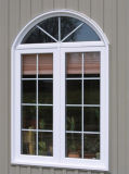 Disegno di plastica della griglia di finestra di scivolamento della finestra UPVC