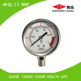 Calibre de pressão de Digitas da câmara de ar para o purificador da água do RO