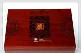 Caisse d'emballage chinoise de zodiaque et cadre en bois de souvenirs