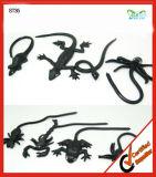 Jouet collant en plastique d'araignée de cadeaux de Veille de la toussaint d'animaux de jouets collants drôles d'insectes