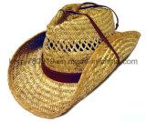 Chapéu de palha feito sob encomenda do chapéu do Boater da palha da promoção/Sunhat (DH-LH91210)
