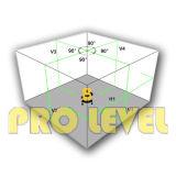 Niveau multiligne Self-Leveling vert de laser (SK-411G)