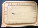 casella di pranzo di plastica a gettare provvista di cardini scompartimento 800ml 4