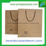 Sacs de achat personnalisés d'habillement de mode de laminage d'impression offset d'emballage de papier de sacs à main mats de sac
