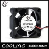 ventilador elétrico da C.C. do fluxo elevado 30mm do ventilador de refrigeração de 30X30X10mm 5V Toyon